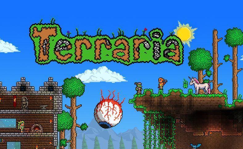 Terraria ゲーム Spiele Games - Minecraft terraria spielen